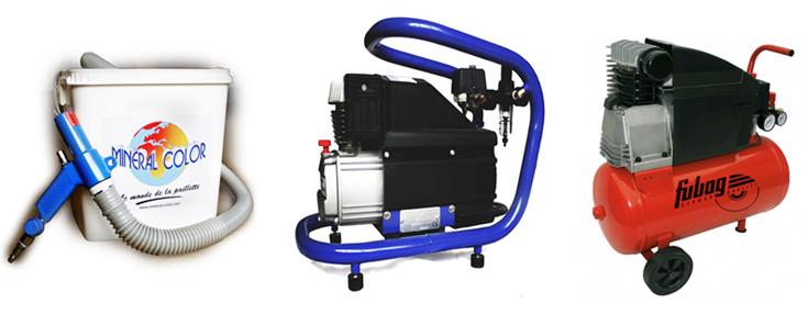 PISTOFLOC и компрессор