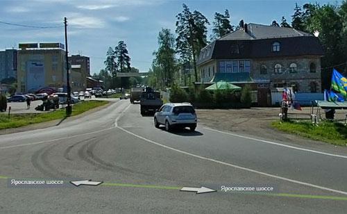 Съезд с Ярославского шоссе, 27-й км., пос. Лесной - 2